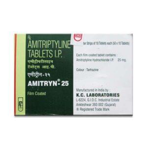 AMITRYN 25 MG TABLET