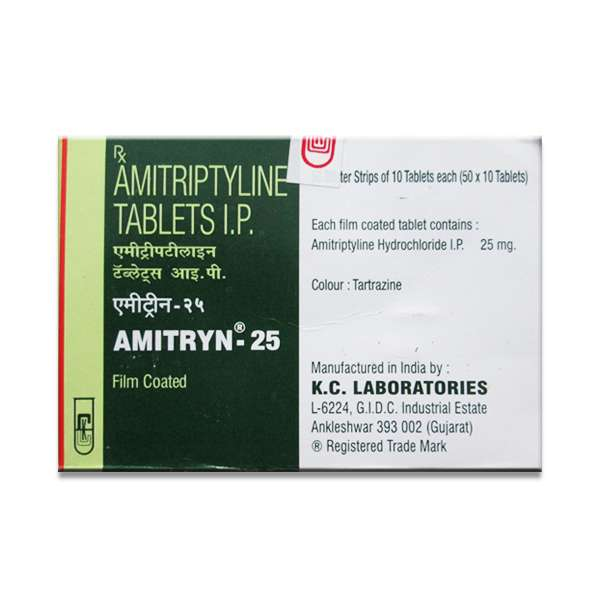 AMITRYN 25 MG TABLET