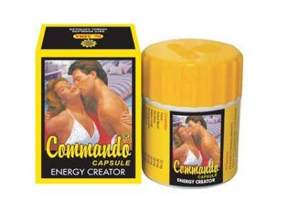 Commando Capsules For Male