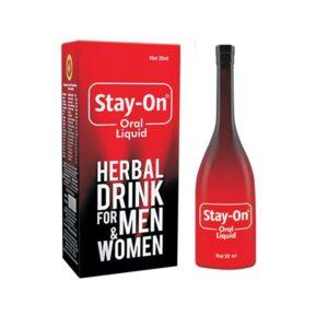 Stay-On Oral Liquid