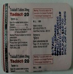 Tadact 20mg Tablet