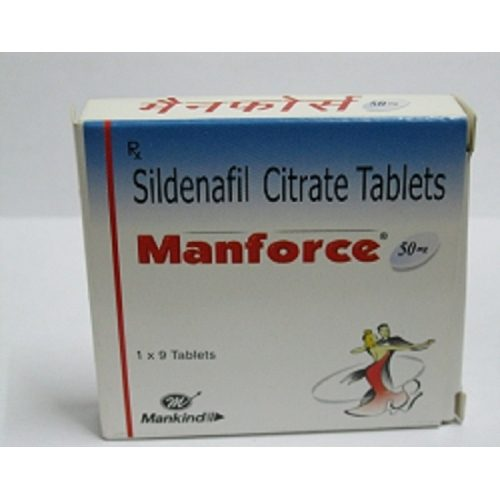 Manforce 50mg Tablet