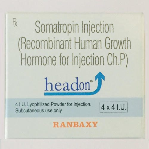 Somatropin Headon 4 IU Injection