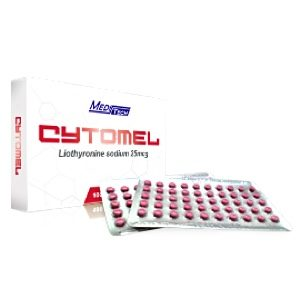 T3 Cytomel 25mcg Tablets