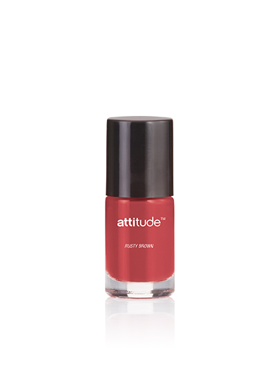 Attitude Nail Enamel Rusty Brown 6 Ml
