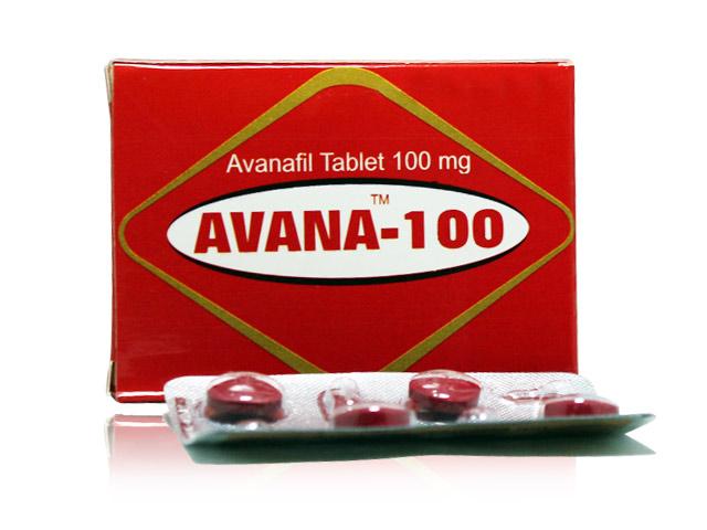 Avana 100mg Tablets