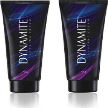 Dynamite Shaving Cream 70 g (Pack of 2)