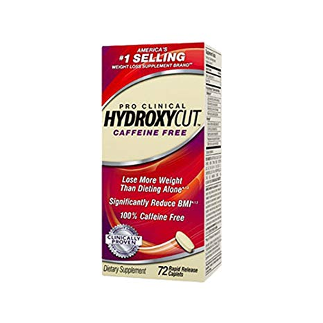 Hydroxycut Caffeine Free Fat Burner