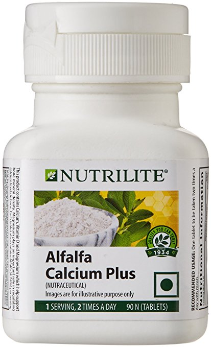 Nutri1ite Alfalfa Calcium  Plus 90N Tablets