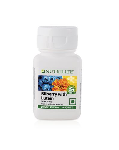 Nutrilite Bilberry With Lutein 60N Tablets