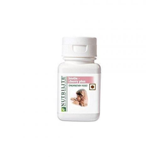 Nutrilite Biotin – Cherry Plus 60N Tablets