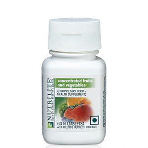 Nutrilite Concentrated  Fruits & Vegetables  60N Tablets