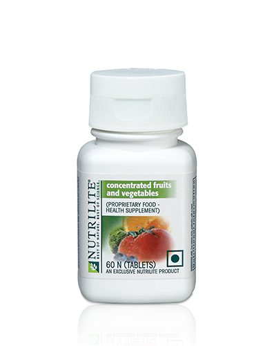 Nutrilite Concentrated  Fruits & Vegetables  60N Tablets