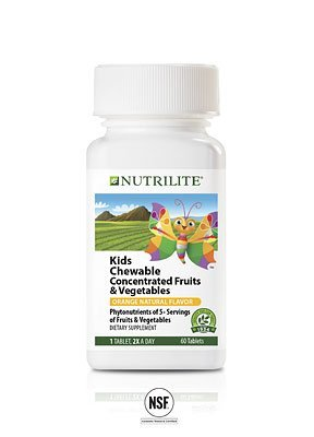 Nutrilite Kids Chewable  Concentrated  Fruits And Vegetables 60N Tablets