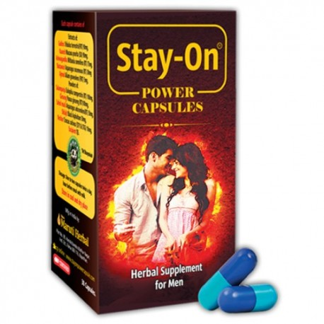 Stay-On Power Capsules