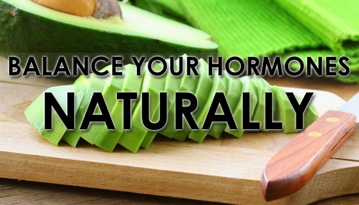 natural way to balance the hormones