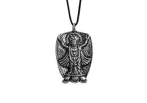DollsofIndia Chaitanyadev Pendant – Cord Length – 22 Inches Pendant – 1.5 Inches (MK86)
