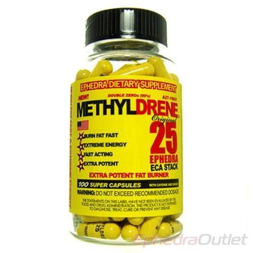 Methyldrene 25 ECA Stack Fat Burner