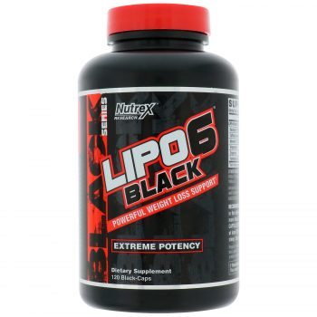 Nutrex LIPO6 Black Extreme Potency Fat Burner