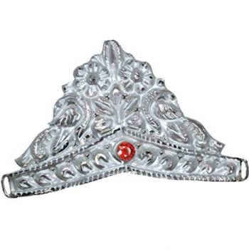 RAJLAXMI JEWELLERS 925 92.5 Pure Silver MUKUT Crown for Hindu GOD and Men and Women_3