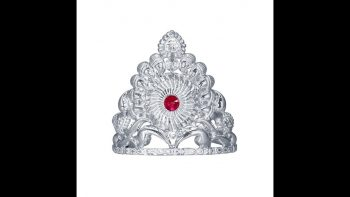 RAJLAXMI JEWELLERS Pure Silver MUKUT Crown for Hindu GOD and Men and Women_1