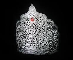 RAJLAXMI JEWELLERS Pure Silver MUKUT Crown for Hindu GOD and Men and Women_3