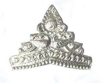 RAJLAXMI JEWELLERS Pure Silver MUKUT Crown for Hindu GOD and Men and Women_4