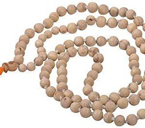 Shiva Rudraksha Ratna Natural Quartz Crystal Sphatik Mala Rosary Diamond Cut