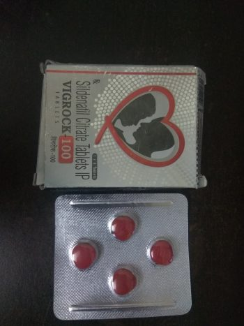 Vigrock 100mg tablets