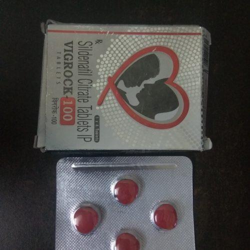 Vigrock 100mg Tablets
