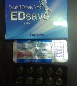 ED SAVE 5MG TABLET – Fourrts India Laboratories Pvt Ltd
