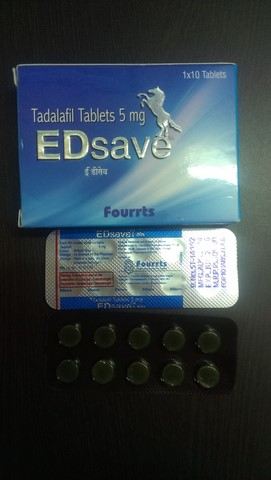ED SAVE 5MG TABLET – Fourrts India Laboratories Pvt Ltd