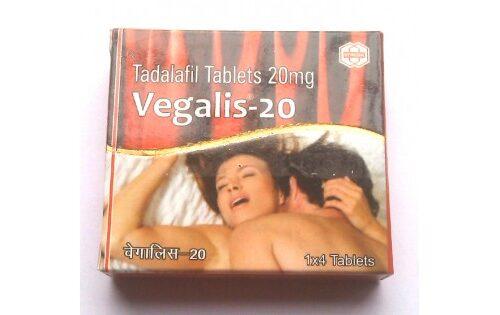 VEGALIS-20 TADALAFIL TABLETS IP 20mg – SYNCOM HEALTHCARE LIMITED