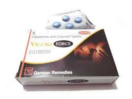 VIGORE FORCE TABLETS FOR MAN / SILDENAFIL & DAPOXETINE TABLETS – GERMAN REMEDIES