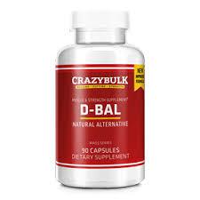 CRAZYBULK D-BAL NATURAL ALTERNATIVE 90 CAPSULES / MUSCLE & STRENGTH SUPPLEMENT – CRAZYBULK