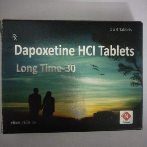 LONG TIME 30 TABLETS / DAPOXETINE HCL TABLETS – NUKIND HEALTHCARE